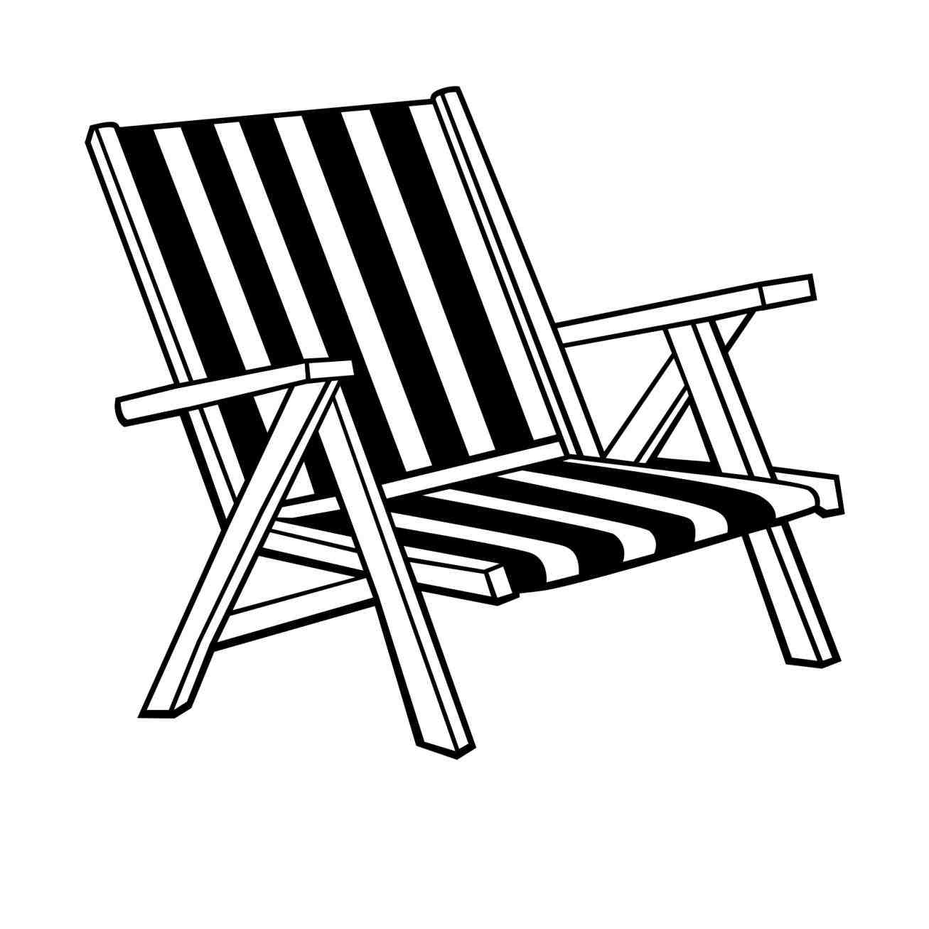 White folding chair clipart vector royalty free library Free Chair Clipart Black And White, Download Free Clip Art, Free ... vector royalty free library