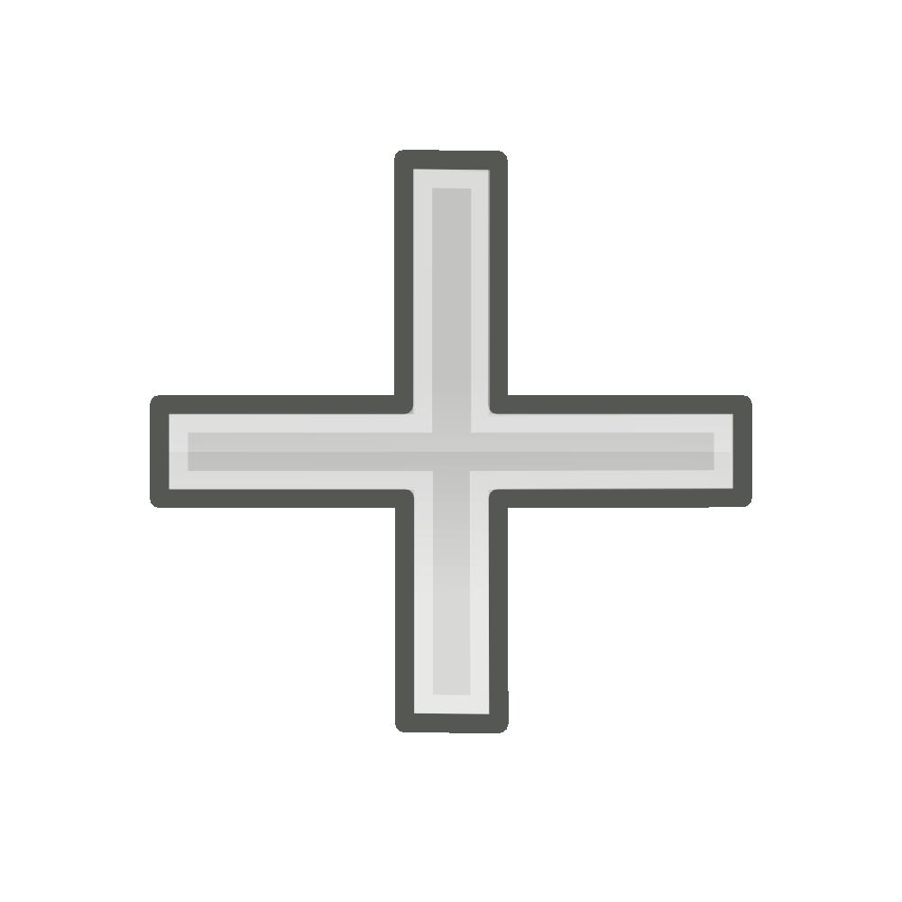 Black and white christian cross clipart clipart black and white stock Grey Cross | Free download best Grey Cross on ClipArtMag.com clipart black and white stock