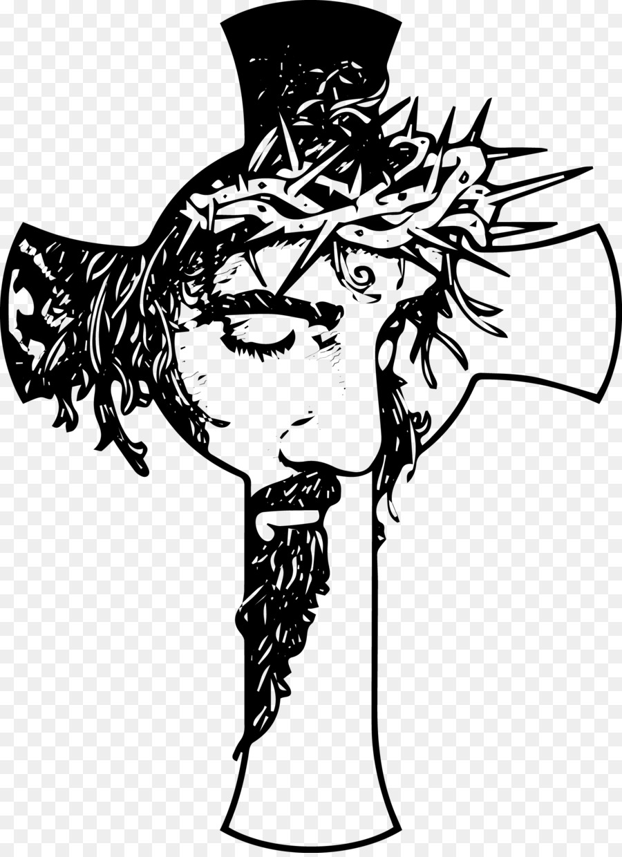 Christian black and white clipart clip art transparent library Black And White Png Of Jesus Christ & Free Black And White Of Jesus ... clip art transparent library