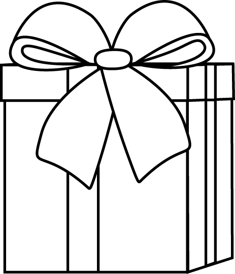 Gifts black and white clipart graphic black and white Black and White Christmas Gift Clip Art - Black and White Christmas ... graphic black and white