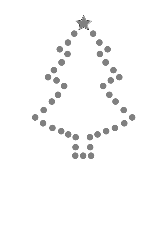 Black and white christmas lights clipart banner royalty free download Christmas tree black and white tree cli christmas clipart black and ... banner royalty free download