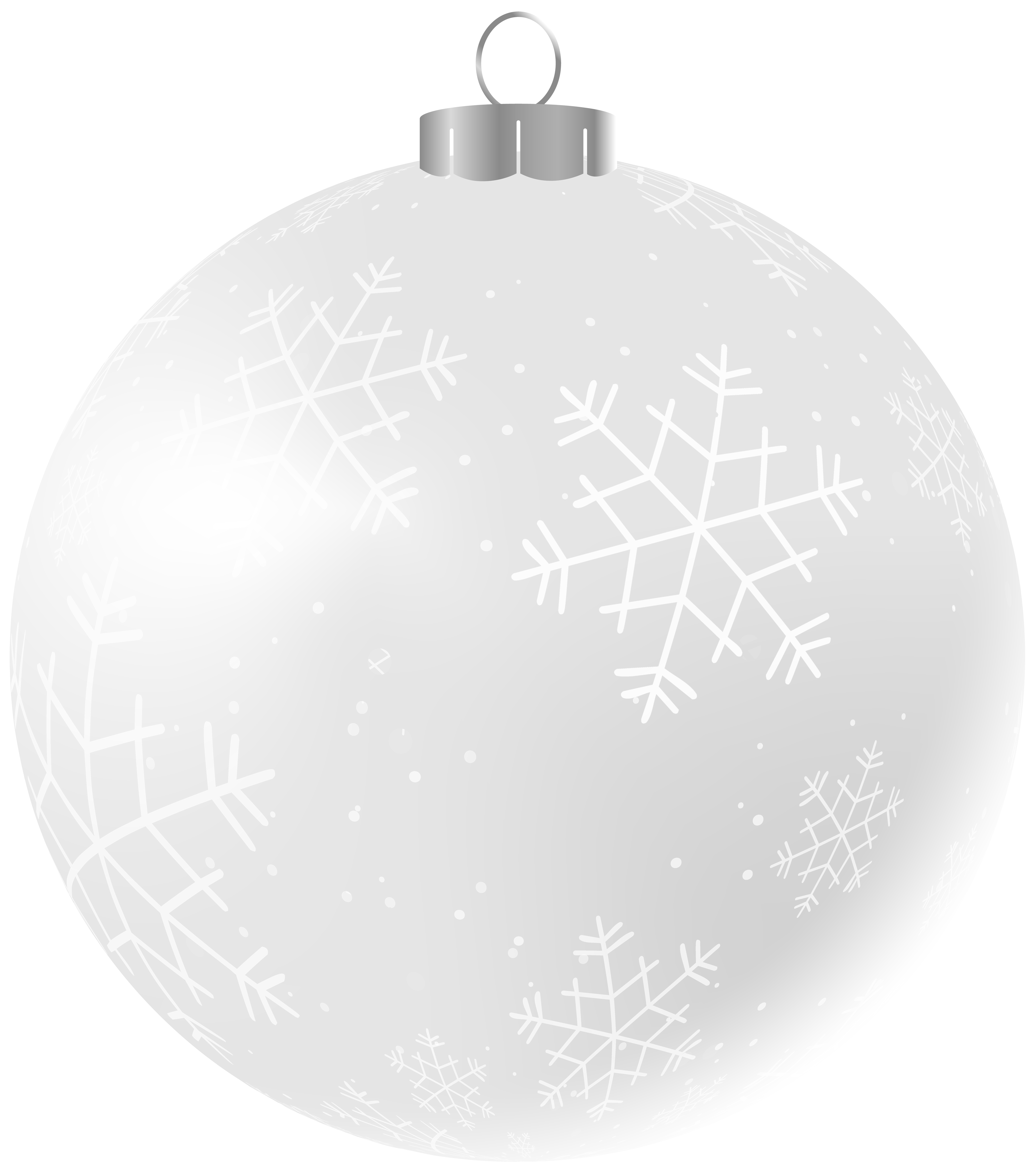 Black and white christmas ornament clipart clip download Transparent Christmas Ornament Clip Art | Gallery Yopriceville ... clip download