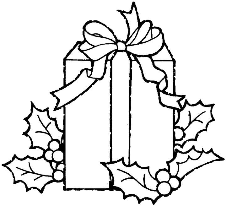 Christmas presents clipart black and white clip black and white library Christmas Gift Drawing at GetDrawings.com | Free for personal use ... clip black and white library