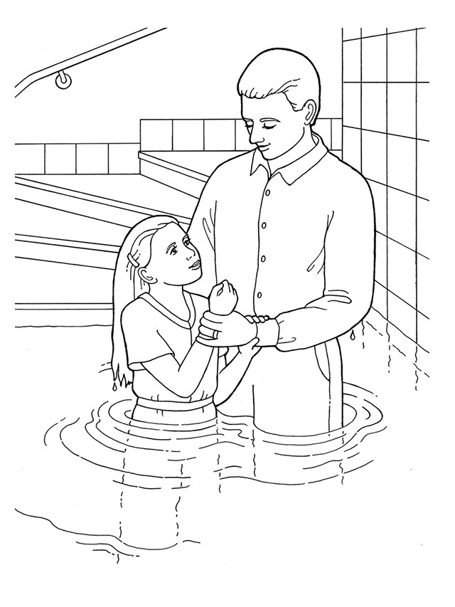 Black and white church young baptism lds clipart png black and white download Young Girl Baptism png black and white download