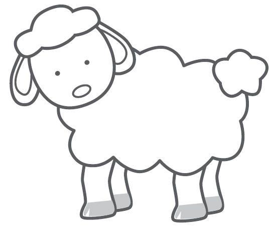 Black and white church young sheep clipart vector His Sheep Cutouts - ClipArt Best - ClipArt Best | Sheep Week | Sheep ... vector