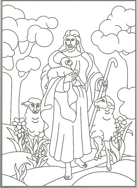 Black and white church young shephard lds clipart jpg free Happy Clean Living: Primary 2 Lesson 23 - The Good Shepherd | Church ... jpg free