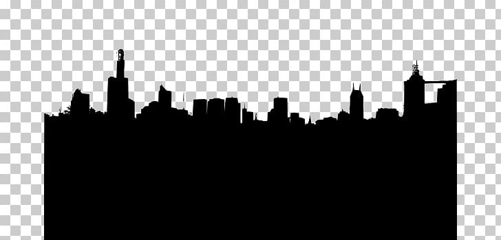 Black and white city skyline clipart royalty free library New York City Skyline Silhouette PNG, Clipart, Art, Black And White ... royalty free library