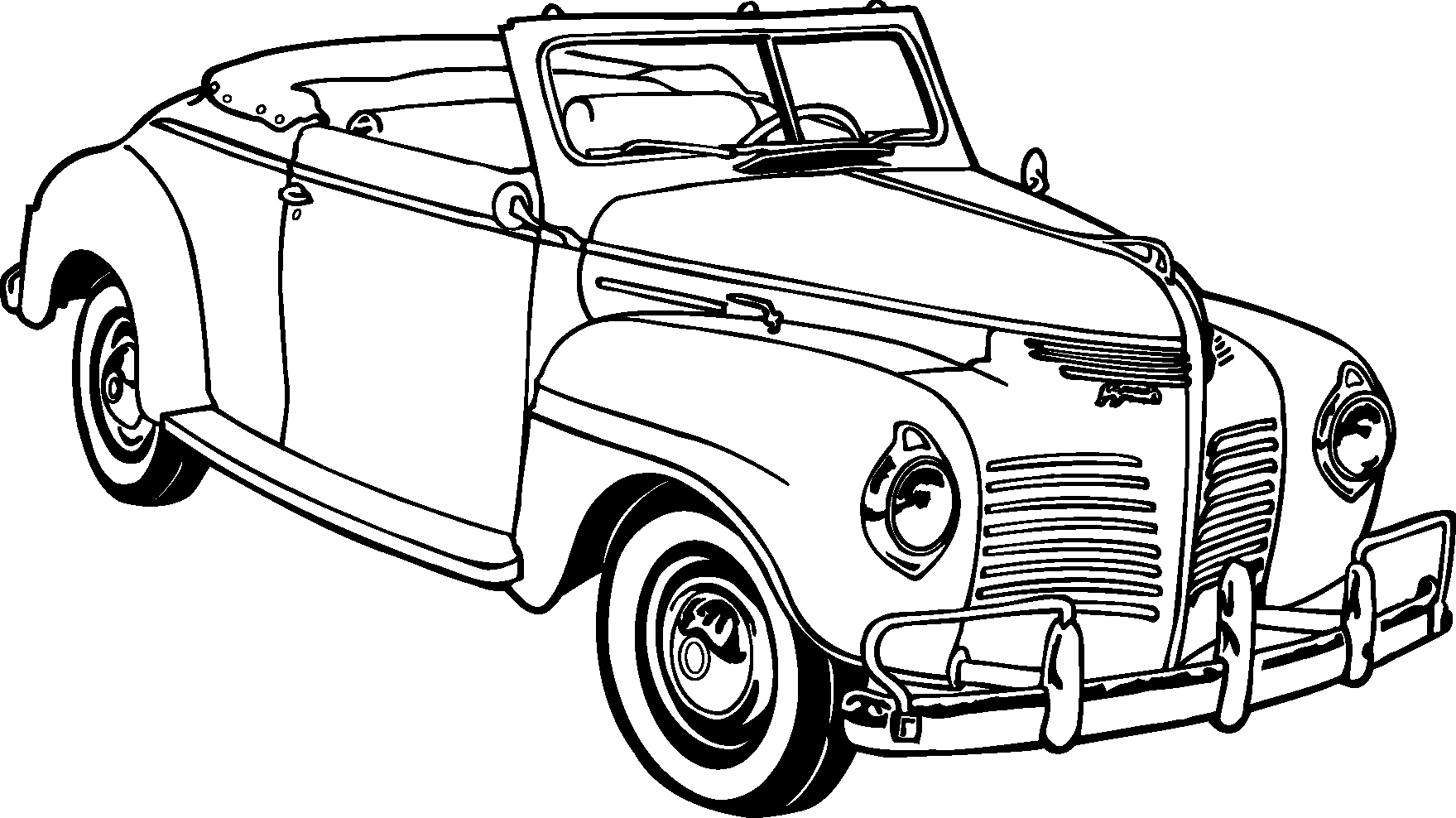 Old fashioned car clipart jpg free stock Old Classic Cars Silhouette | Silhouettes Vector | Pinterest | Car ... jpg free stock