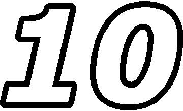 Number 10 clipart black and white image free stock Number 10 clipart black and white - Clip Art Library image free stock