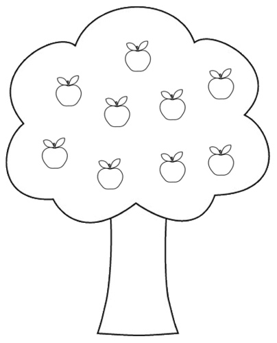 Clipart black and white apple tree in s vector freeuse stock Tree black and white tree clipart black and white 10 - Cliparting.com vector freeuse stock
