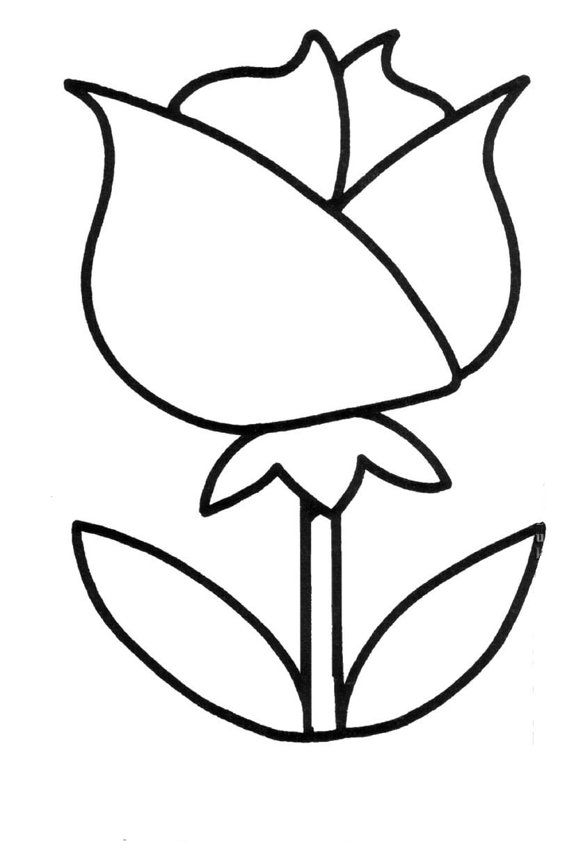 Black and white clipart 2 year old vector royalty free library Coloring Pages for 2- to 3-Year-Old Kids. Download Them or Print Online! vector royalty free library