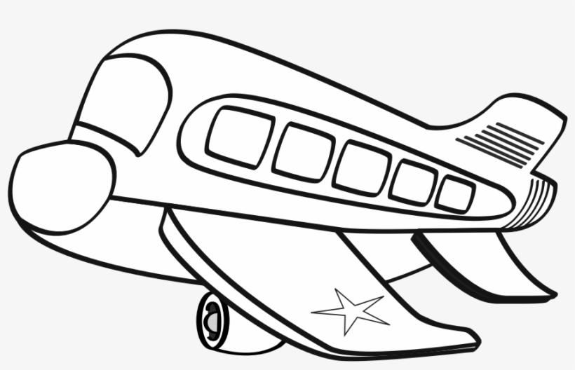 Black and white clipart aereo clip free download Aereo Militare Funny Airplane Black White Line Art - Clip Art ... clip free download