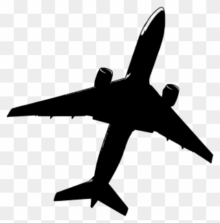 Black and white clipart aereo picture free download Malaysia Air Mh Crash Airplane Stencil Big - Sagoma Aereo Png ... picture free download