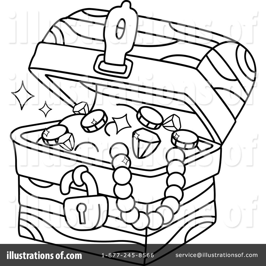 Treasure Chest Clipart #1279211 - Illustration by BNP Design Studio svg freeuse download