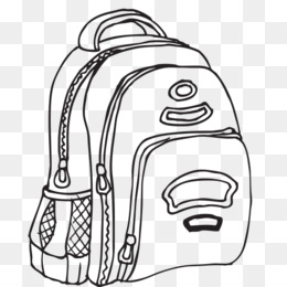Black and white clipart an old school bag picture royalty free School Bag PNG - School Bag, Japanese School Bag, College School ... picture royalty free