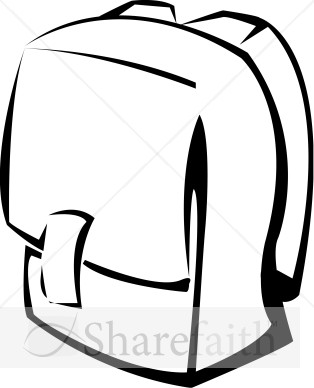 Black and white clipart an old school bag clipart royalty free download Bookbag clipart old backpack, Bookbag old backpack Transparent FREE ... clipart royalty free download