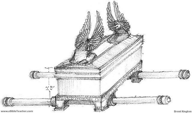 Black and white clipart ark of the covenant clipart royalty free stock File:Ark of the Covenant in Black and White.JPG - Wikimedia Commons clipart royalty free stock