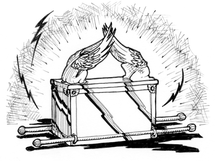 Black and white clipart ark of the covenant clipart black and white download Ark of the Covenant | Saint Mary\'s Press clipart black and white download