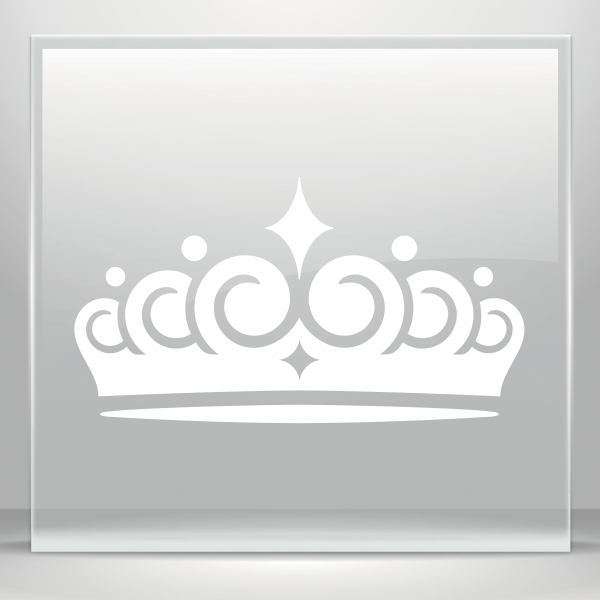 Crown clipart king simple vector library stock Simple color vinyl Royal Crown Chess Queen King Kingdom | Stickers ... vector library stock