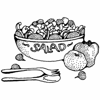Chicken taco salad clipart black and white jpg royalty free library Free Salad Bowl Cliparts Download Clip Art - Salad Clipart Black And ... jpg royalty free library