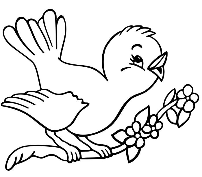 Picture of a bird clipart black and white image freeuse download Birds clipart black and white 1 » Clipart Station image freeuse download