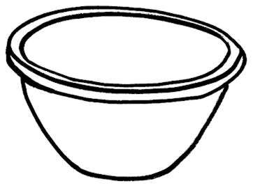 Bowl clipart black and white graphic freeuse Bowl Clipart Black And White | Free download best Bowl Clipart Black ... graphic freeuse