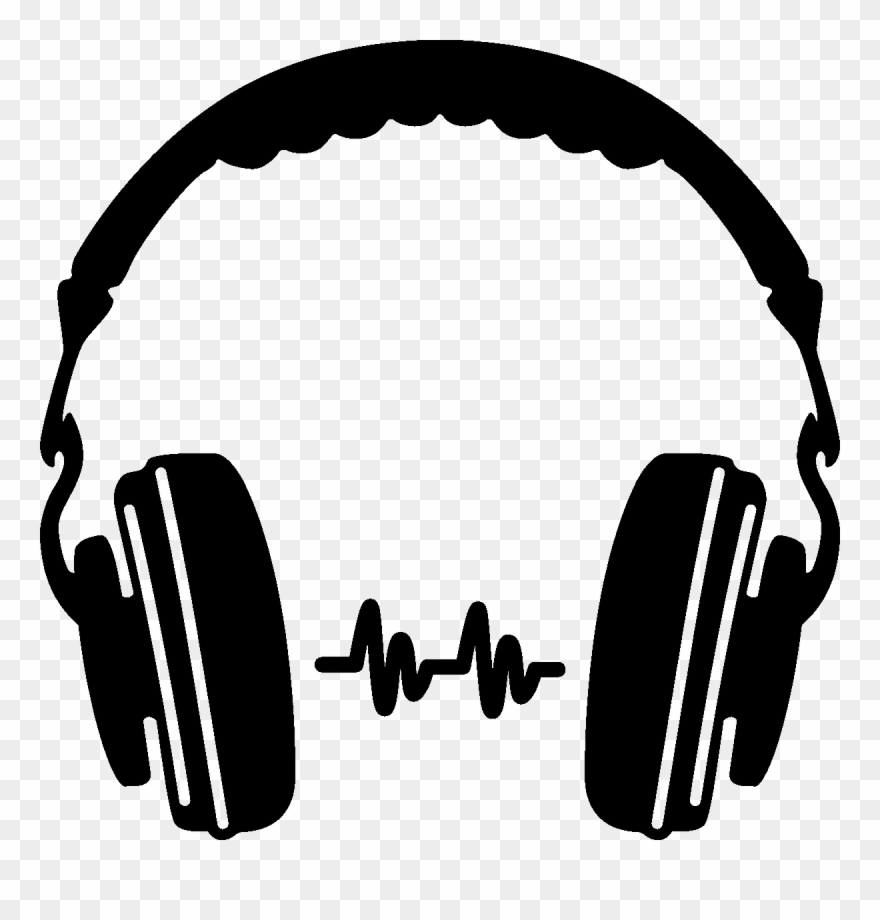 Headphone Silhouette Clip Art Png Png Mart Sa Spurs - Headphones Png ... image library stock