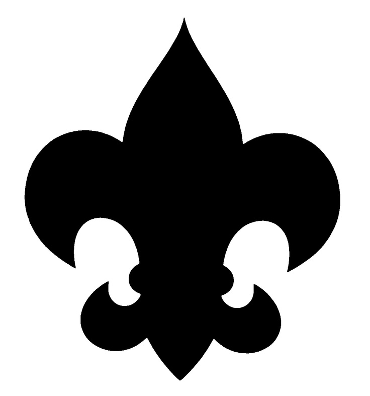 Black and white clipart boyscouts logo graphic 17 Best ideas about Boy Scout Symbol on Pinterest | Scouts ... graphic