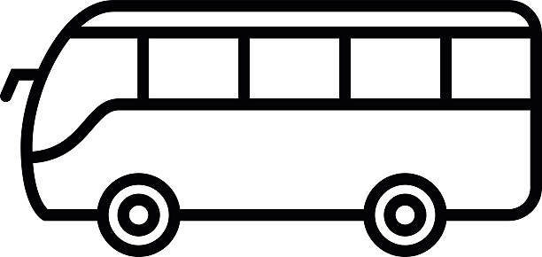 Black and white clipart bus png royalty free stock Bus clipart black and white 4 » Clipart Station png royalty free stock