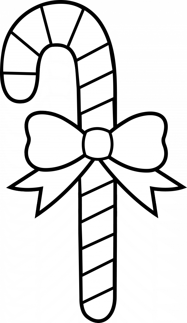 Candy cane black and white clipart banner free Free Candy Cane Clipart, Download Free Clip Art, Free Clip Art on ... banner free