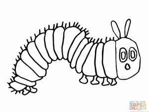 Black and white clipart caterpillar vector royalty free library Caterpillar Clipart Black And White | Free Images at Clker.com ... vector royalty free library