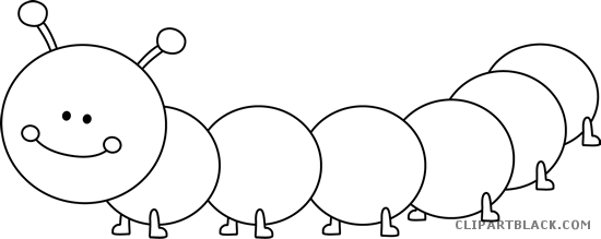 Black and white clipart caterpillar image black and white Black And White Caterpillar Png & Free Black And White Caterpillar ... image black and white