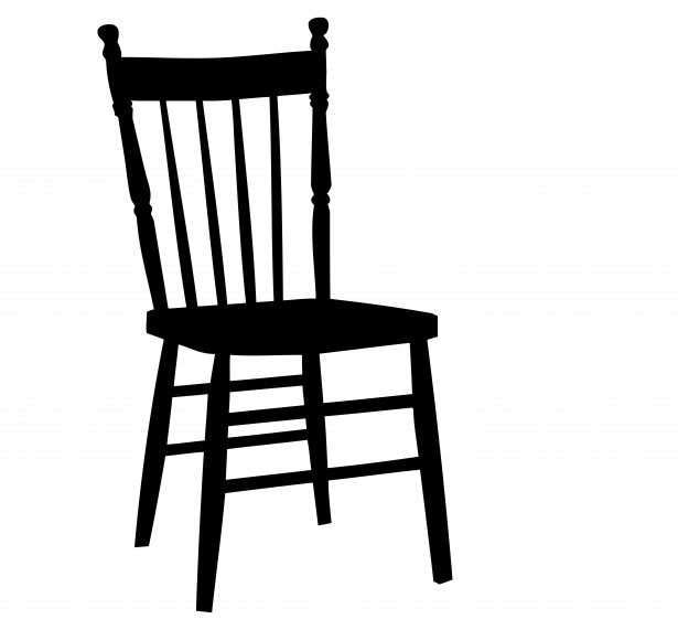 Black and white clipart chair black and white download Chair Clipart Free Stock Photo - Public Domain Pictures black and white download
