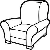 Black and white clipart chair vector royalty free stock Chair Clipart Black And White | Free download best Chair Clipart ... vector royalty free stock