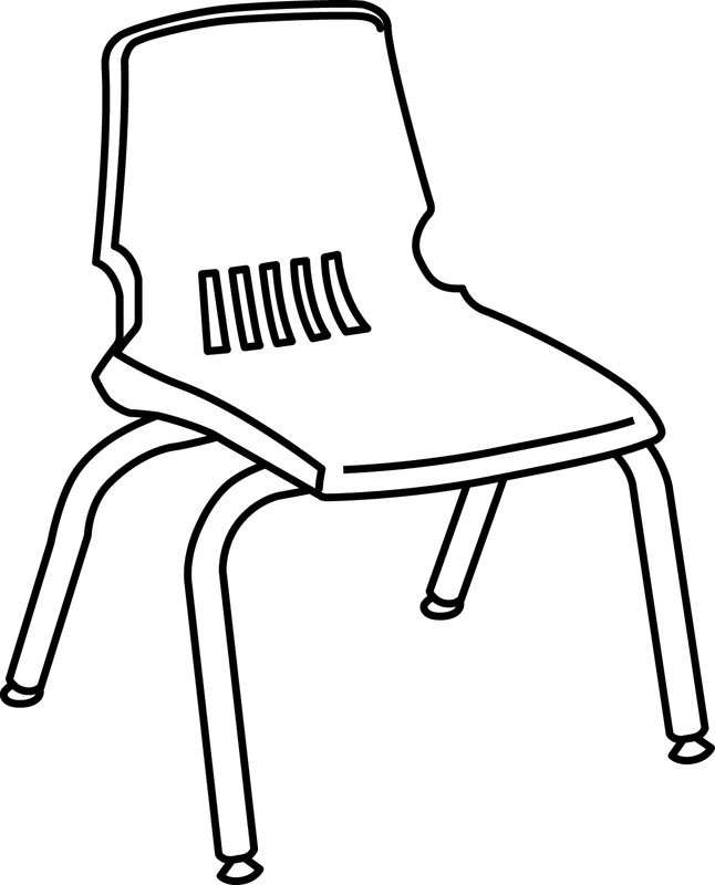Black and white clipart chairs freeuse download Free Chair Line Art, Download Free Clip Art, Free Clip Art on ... freeuse download