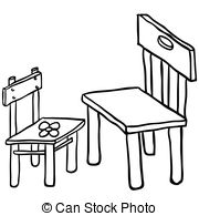 Black and white clipart chairs graphic free download Chair Clipart Black And White   Free download best Chair Clipart ... graphic free download