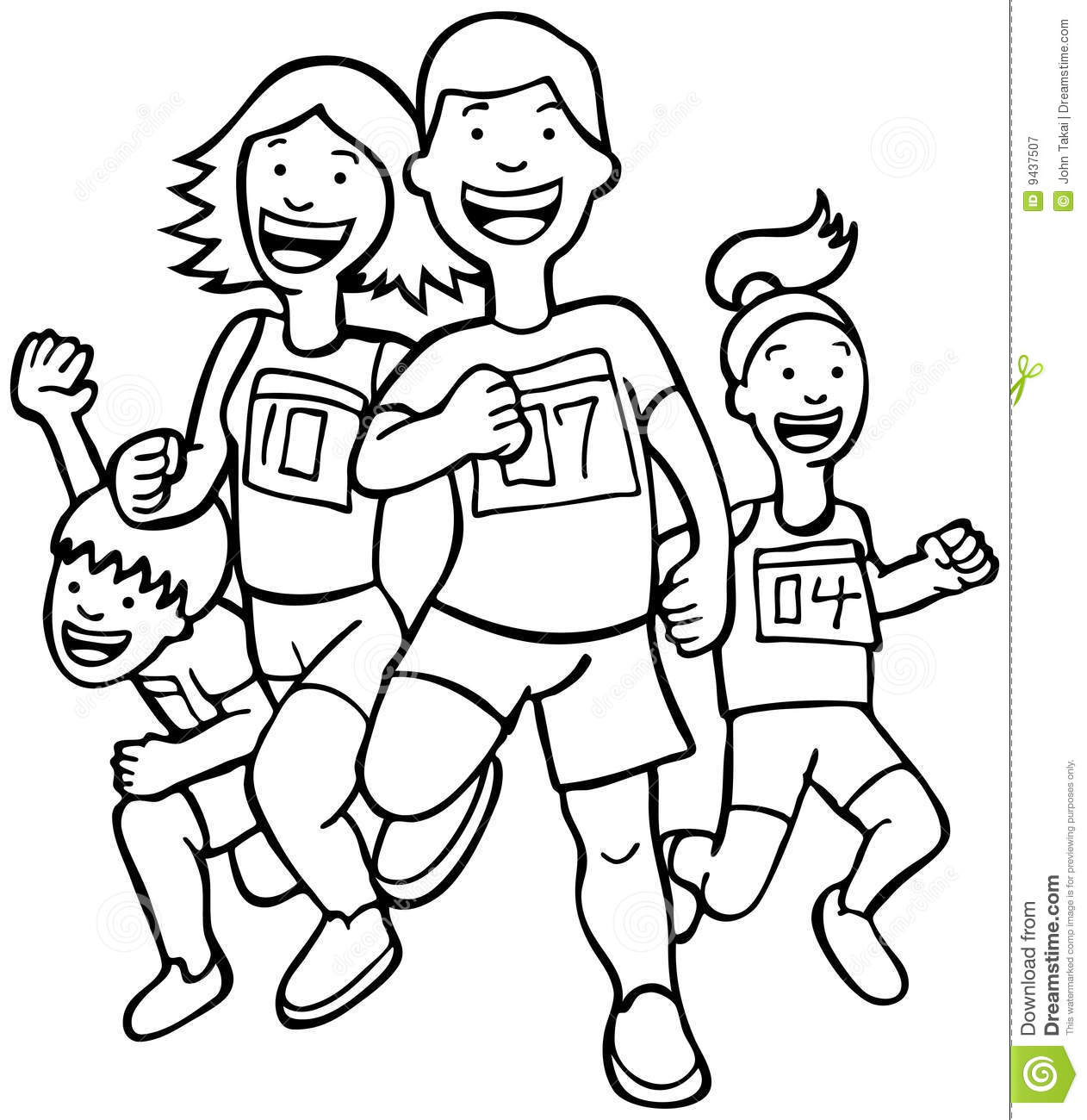 Black and white clipart child running outside clipart freeuse stock Black And White Pictures Of Children | Free download best Black And ... clipart freeuse stock