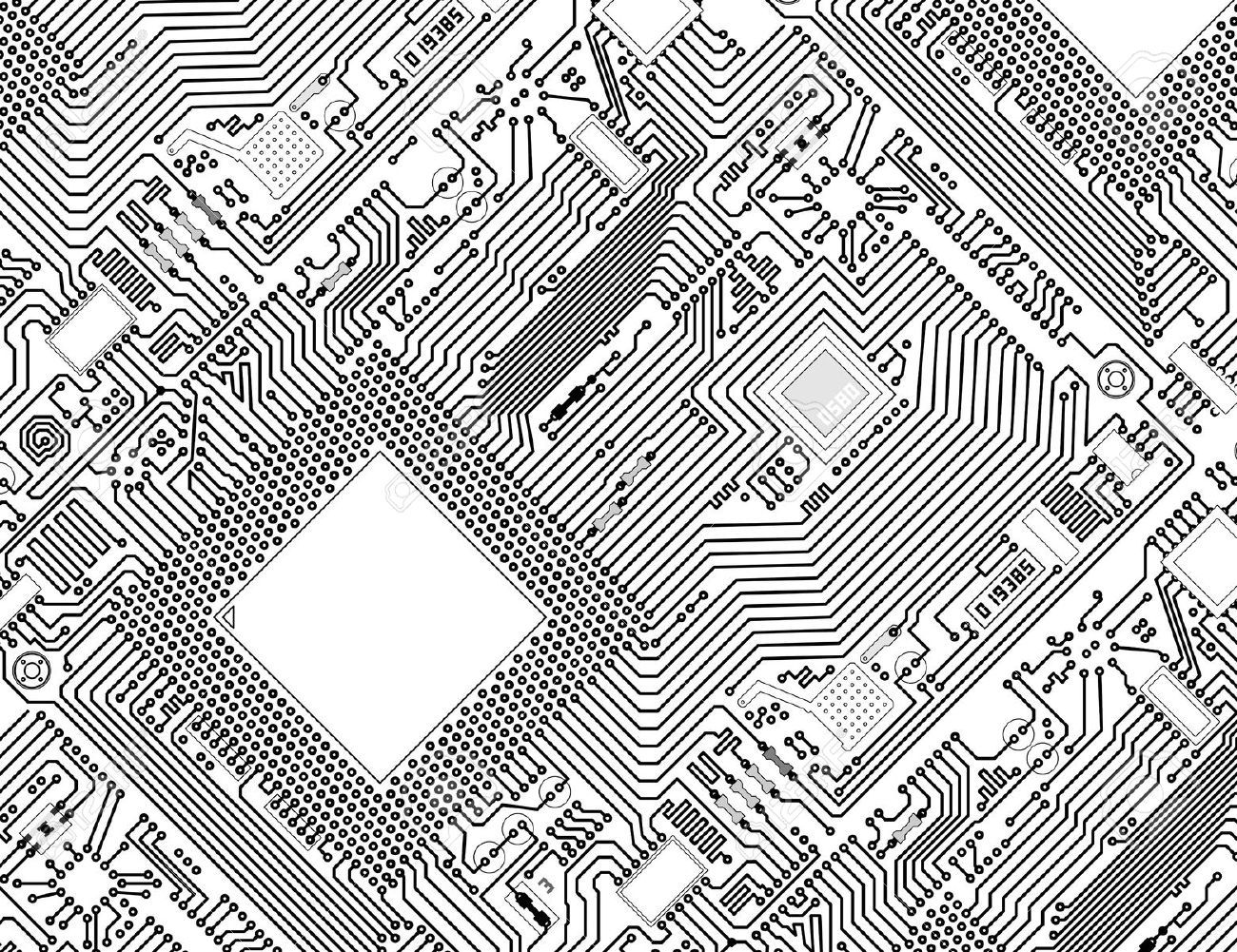 Black and white clipart circuit black and white library black-and-white-circuit-board-clipart-7 – Mark Vernon black and white library