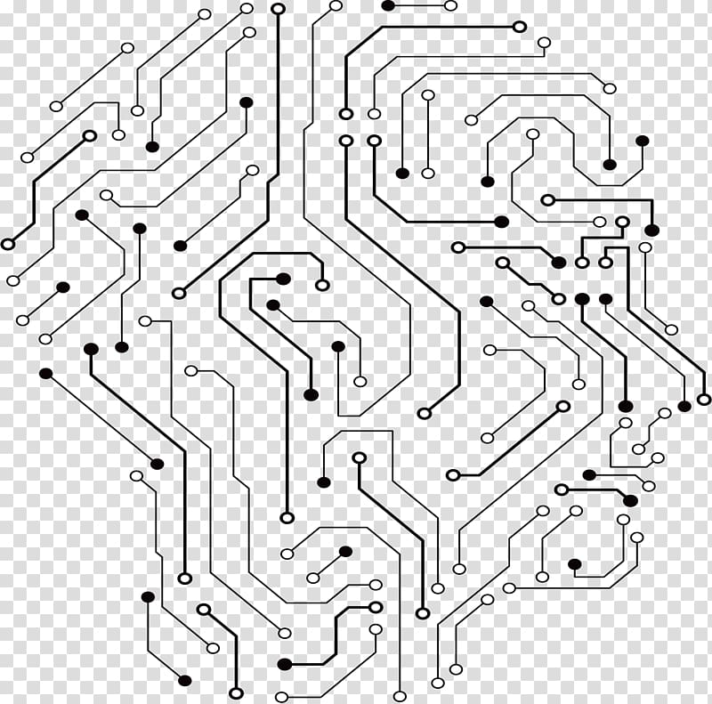 Curcuit board clipart graphic royalty free stock Circuit map illustration, Printed circuit board Electrical network ... graphic royalty free stock