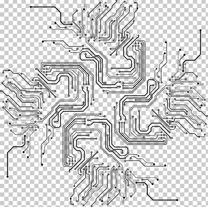 Black and white clipart circuit clip black and white download Circuit Lines PNG, Clipart, Abstract, Angle, Area, Auto Part, Black ... clip black and white download