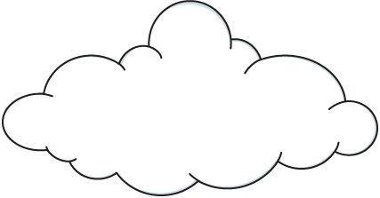 Lcloud clipart clipart free stock Cloud Clip Art Black And White Free Clipart Images | Weather | Cloud ... clipart free stock