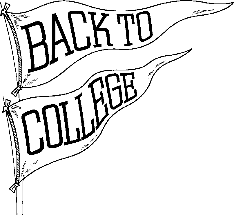 Black and white clipart college free library College clip art black and white free clipart images - ClipartAndScrap free library