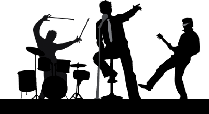 Concert Clipart Black And White image black and white download