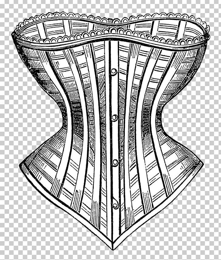 Black and white clipart corset clip transparent download Black And White Drawing Corset PNG, Clipart, Angle, Art, Black And ... clip transparent download
