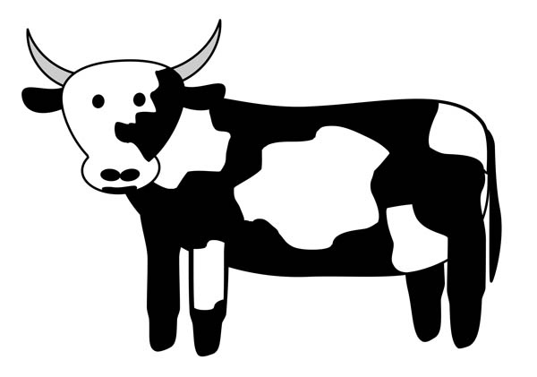 Black and white clipart cow with no legs royalty free download Free Black And White Cow Pictures, Download Free Clip Art, Free Clip ... royalty free download