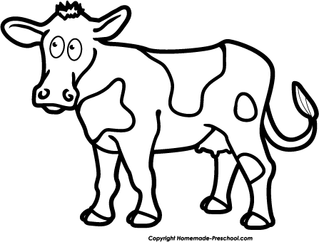 Clipart fat cows skinny cows black and white clipart black and white Free Black And White Cow Pictures, Download Free Clip Art, Free Clip ... clipart black and white