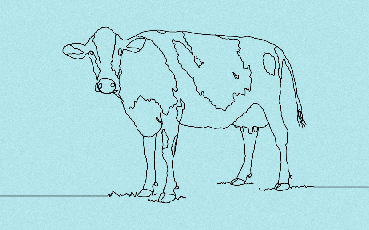 Black and white clipart cow with no legs vector 25 Cow Puns That Are Sure To Amoose You | Thought Catalog vector