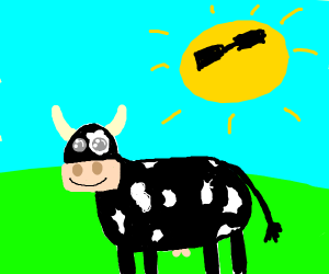 Black and white clipart cow with no legs jpg black and white stock minecraft cow with no legs - Drawception jpg black and white stock