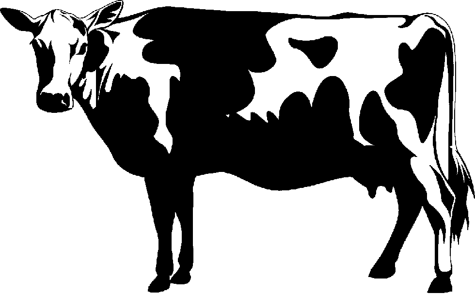 Working cattle clipart jpg stock Free Black And White Cow Pictures, Download Free Clip Art, Free Clip ... jpg stock