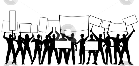 Clipart people holding sign royalty free library Protest Clipart | Free download best Protest Clipart on ClipArtMag.com royalty free library